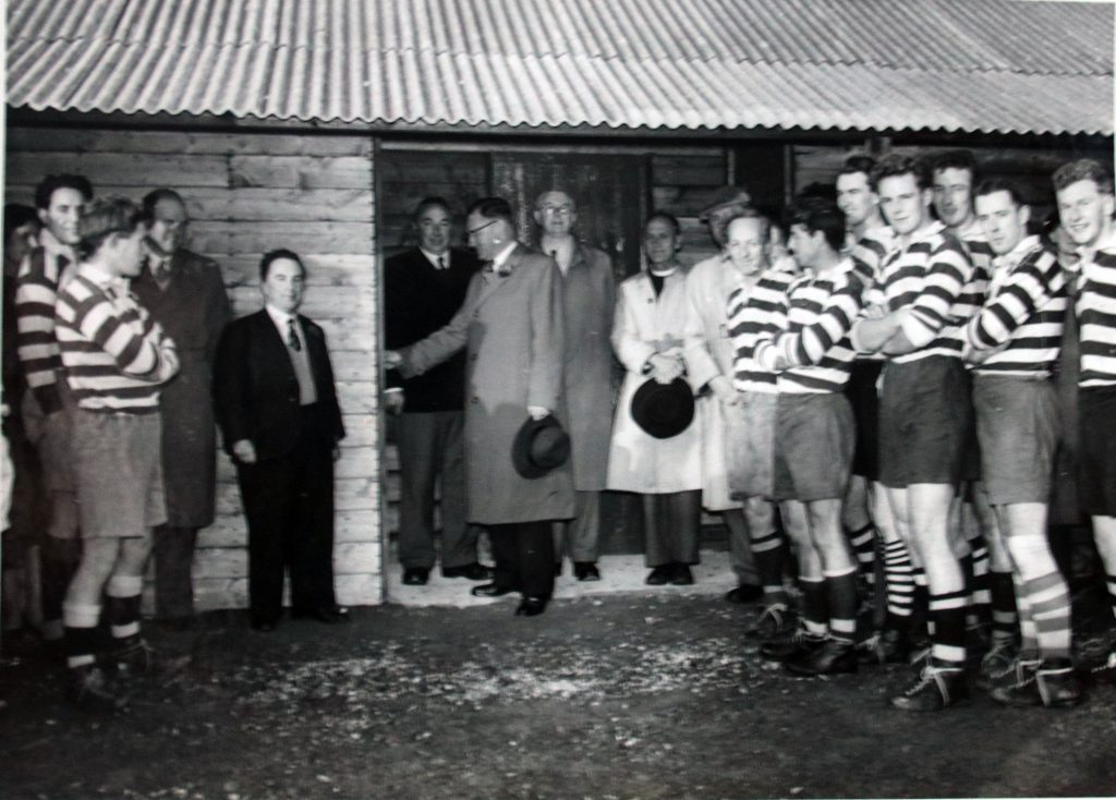 Opening of the Rugby Club changing rooms