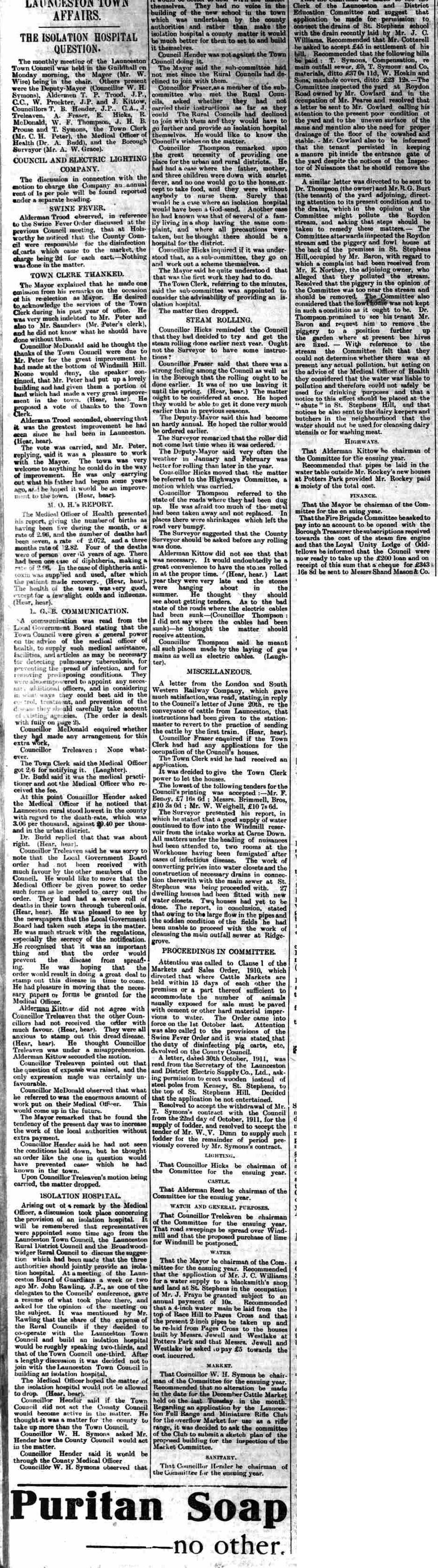 25 November 1911