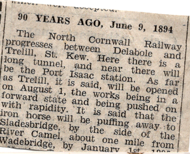 90 years ago article from1984