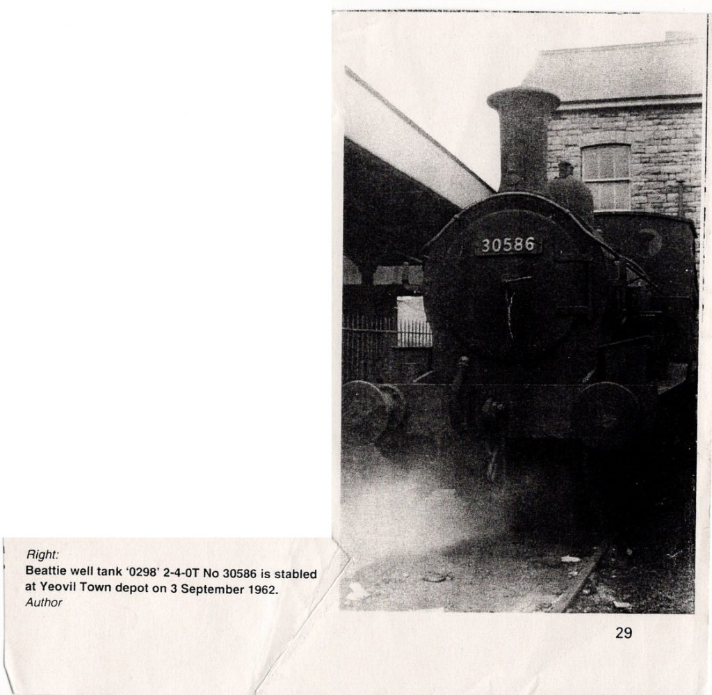 Beattie Tank 30586 at Yeovil Shed