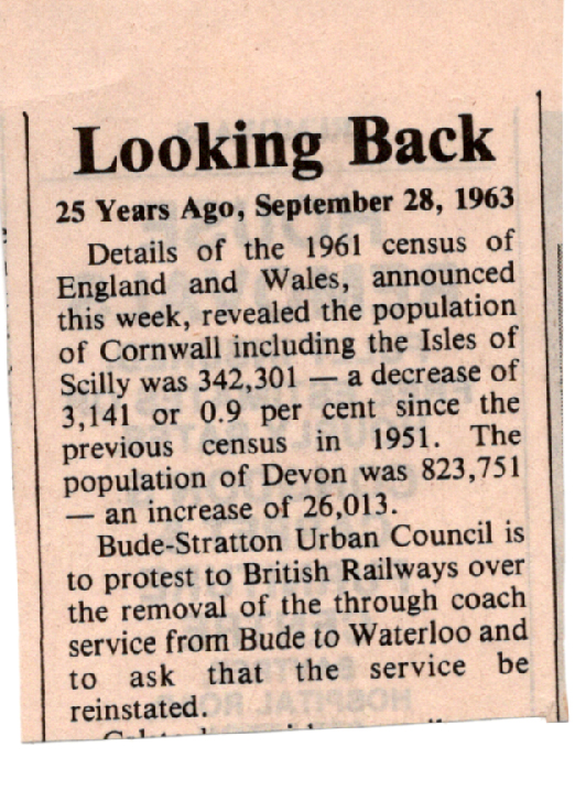 Bude 1963 article