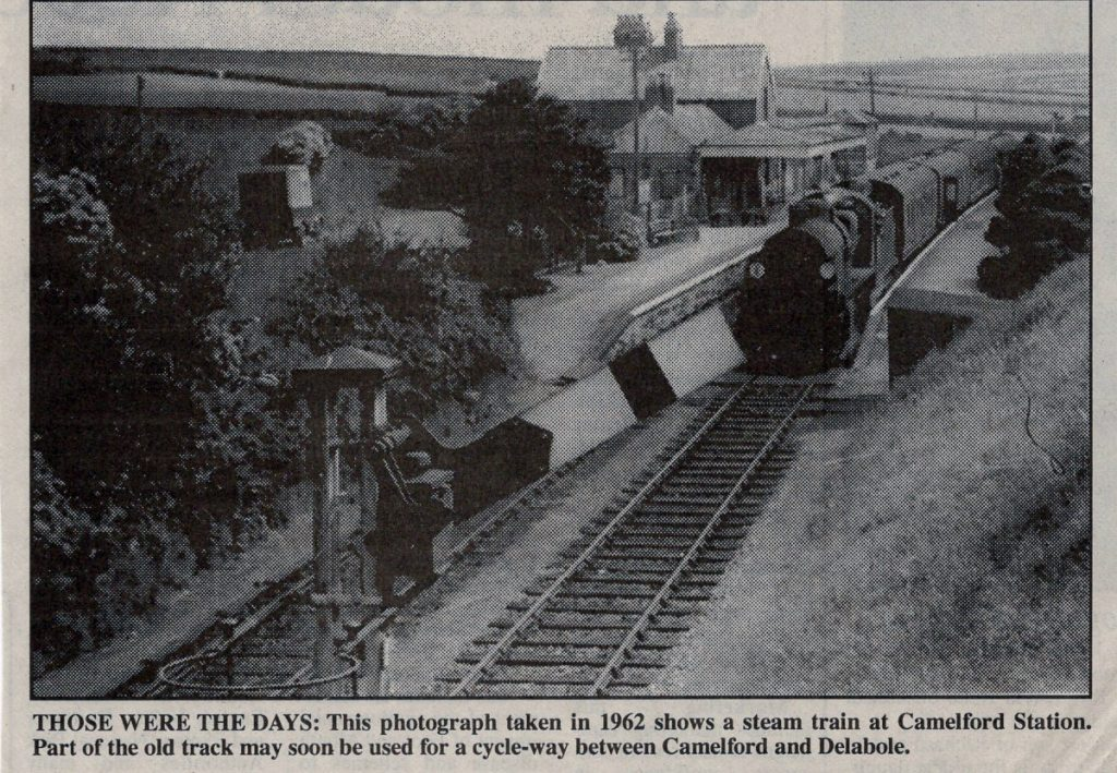 Camelford Station in 1962