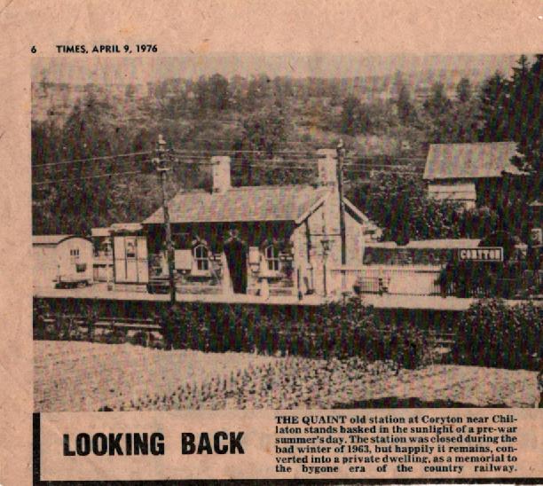Coryton Station 1976