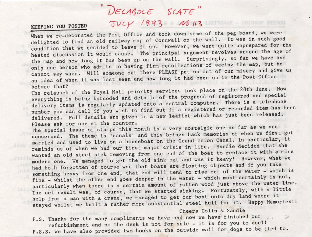 Delabole Slate 1993