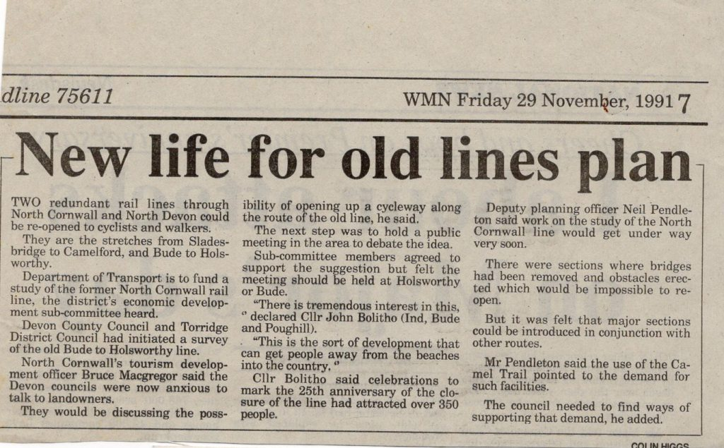New life for an old line article from 1991