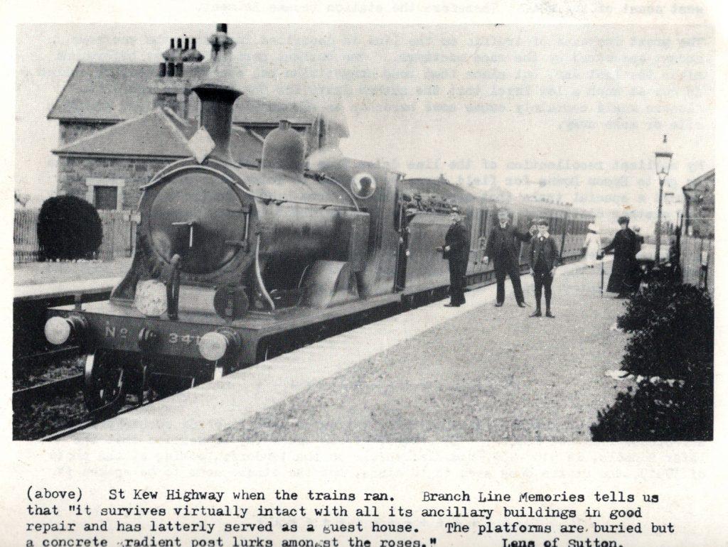 St. Kew Station