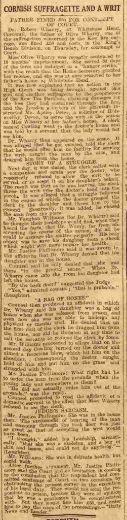 Thursday 15 May 1913