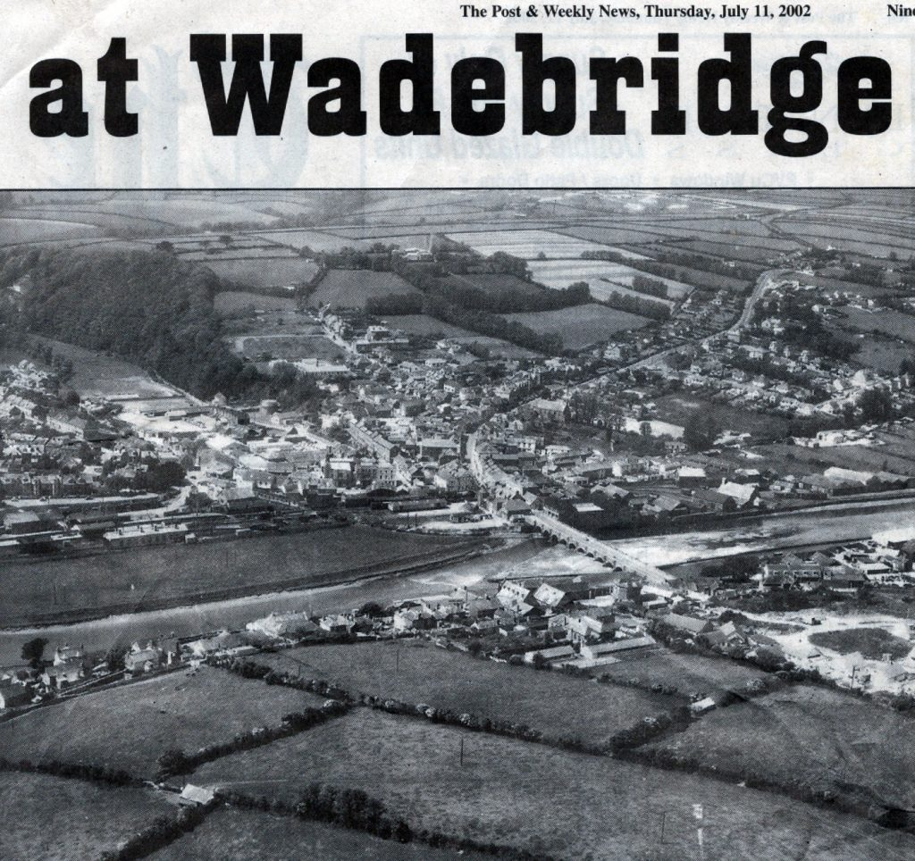 Wadebridge aerial in the 1950's