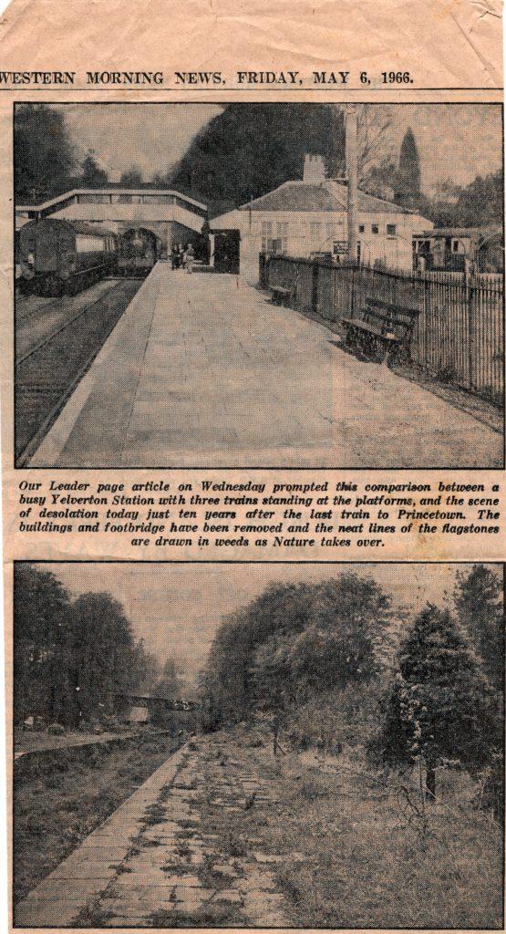 Yelverton Station 1966