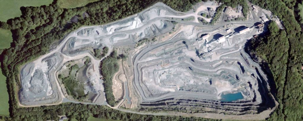 Greystone Quarry aerial from 2010