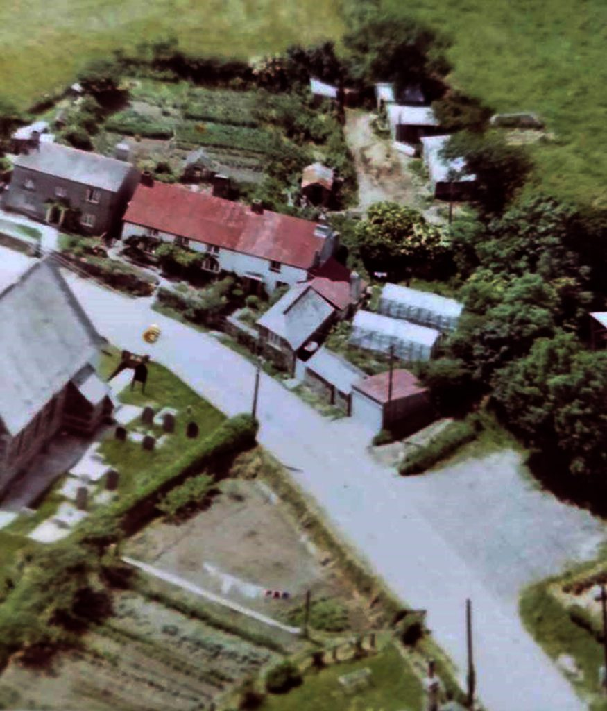 North Petherwin aerial.