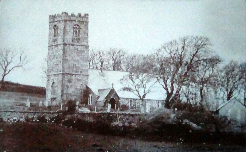 St Clether Church c.1895