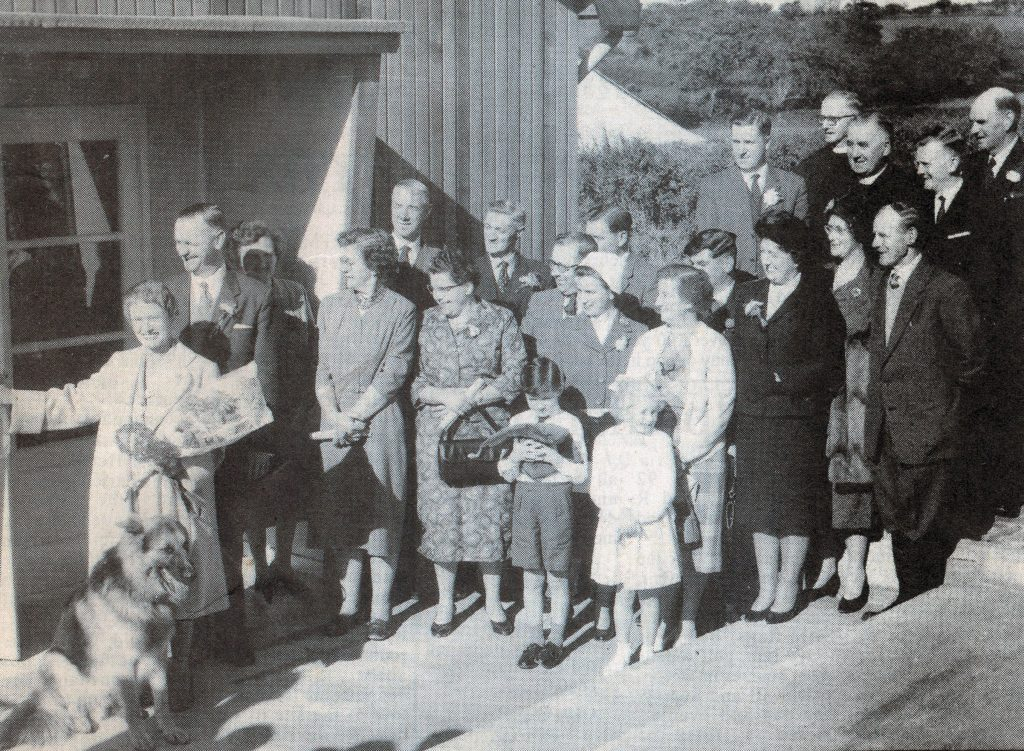 St. Giles Coronation Hall opening in 1961.