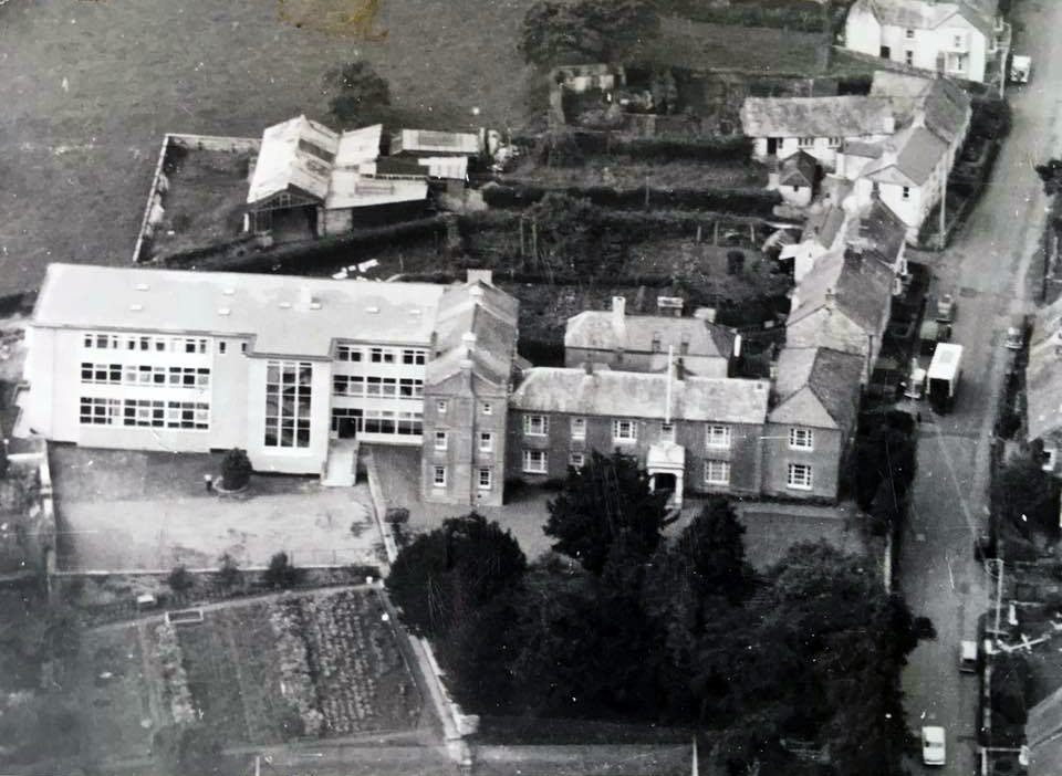 St Josephs School aerial. Photo courtesy of Anne Bruce