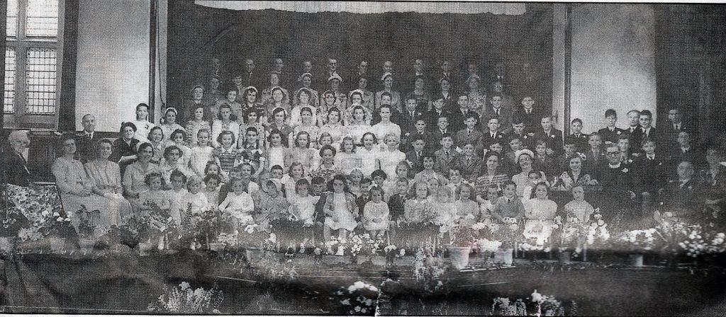 Launceston's Tower Street Chapel 1952 Sunday School Anniversary