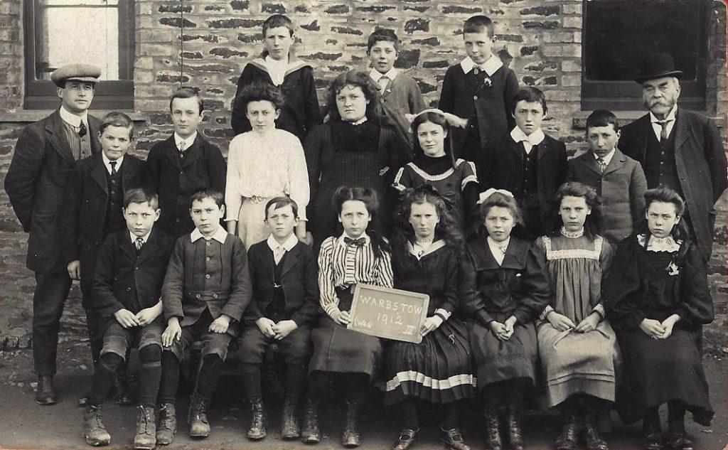 Warbstow School 1912