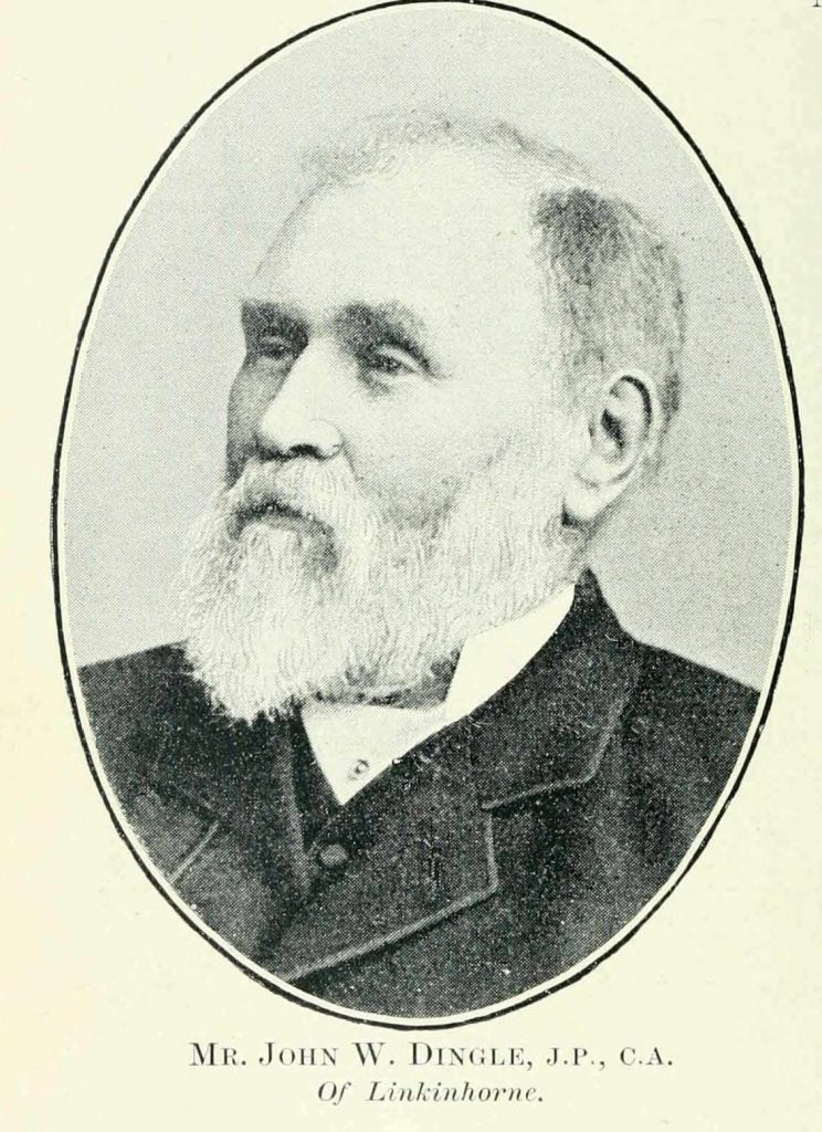 John Dingle in 1900