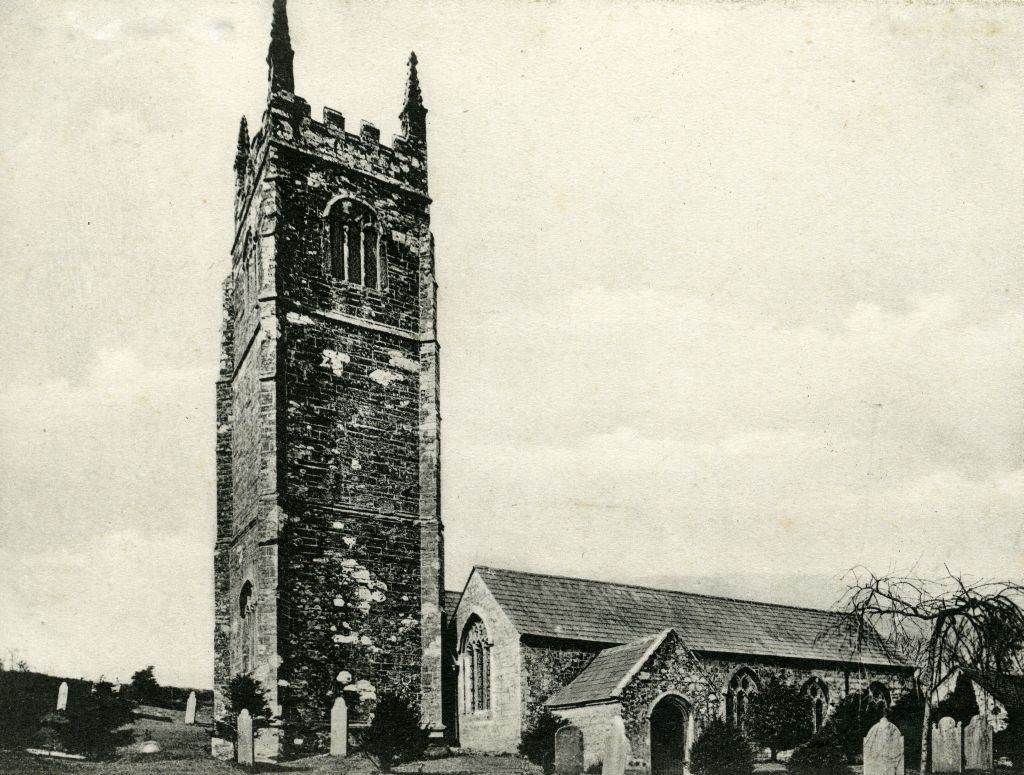 Laneast Church c.1910