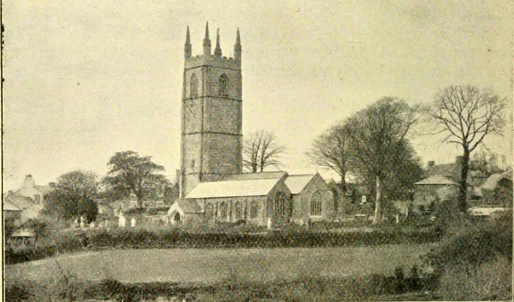 Linkinhorne Church in 1900