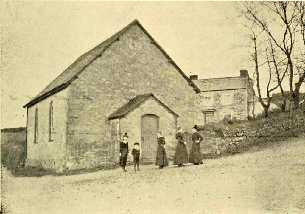 Monks Cross Chapel in 1900