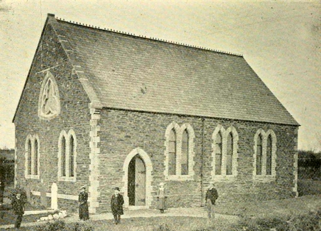 Venterdon Chapel in 1900