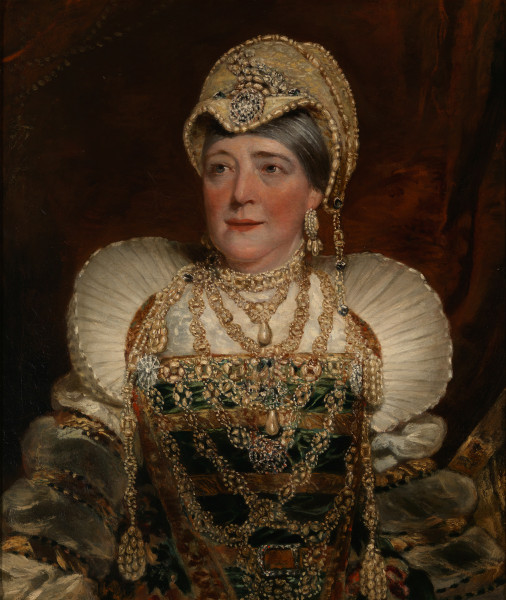 "Mary Ann Davenport in ""Henry VIII"""