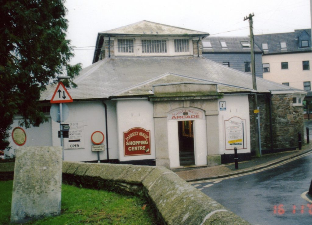 Launceston Meat Market Entrance from church face