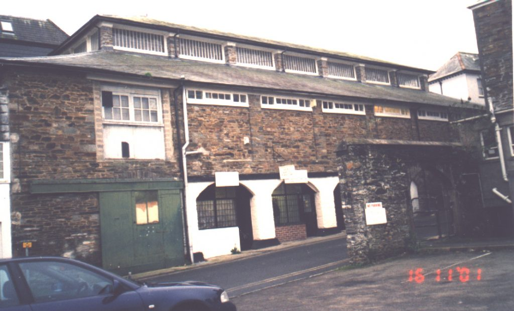 Launceston Meat Market rear view in Blindhole, the lower part was the fish market