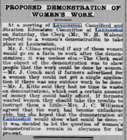 West Briton and Cornwall Advertiser - Thursday 09 March 1916