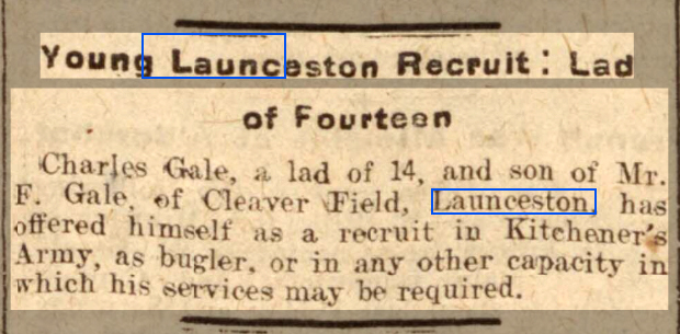 Western Times - Monday 25 January 1915