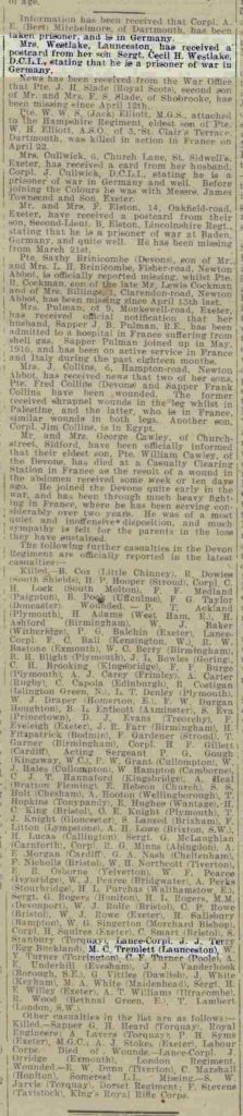 Western Times - Monday 27 May 1918