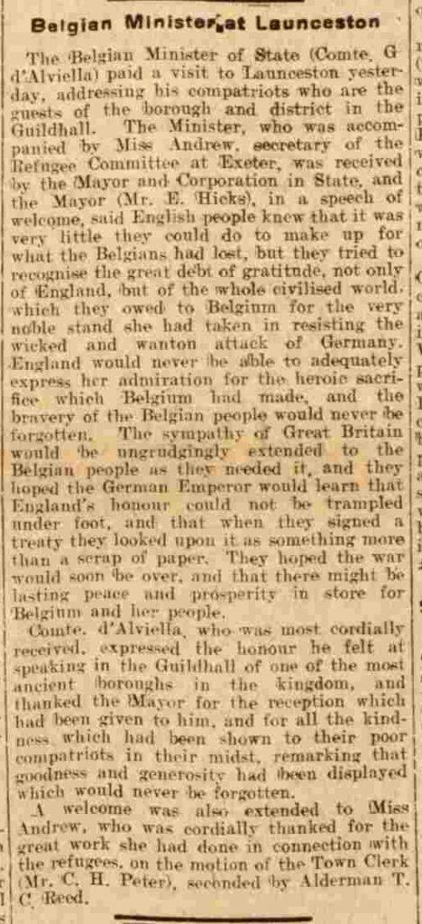 Western Times - Saturday 06 February 1915