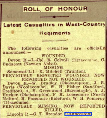 Western Times - Thursday 04 April 1918