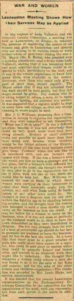 Western Times - Tuesday 20 July 1915