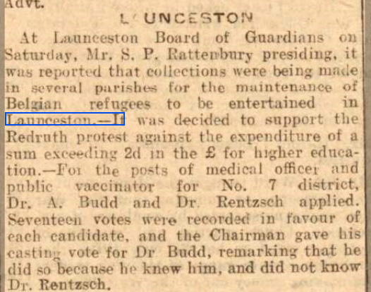 Western Times - Tuesday 24 November 1914