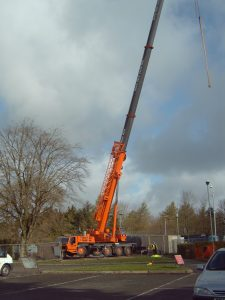 Work commences on the new childrens centre at Coronartion Park