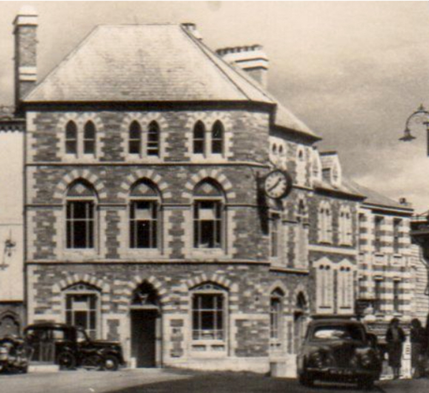 East Cornwall Bank Company, Launceston in the 1950's.