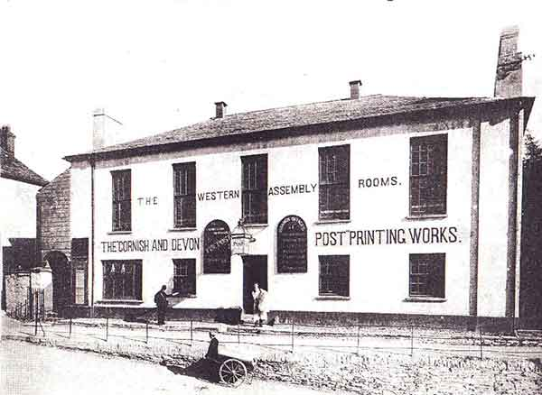 The Western Subscription Rooms, Westgate Street, Launceston