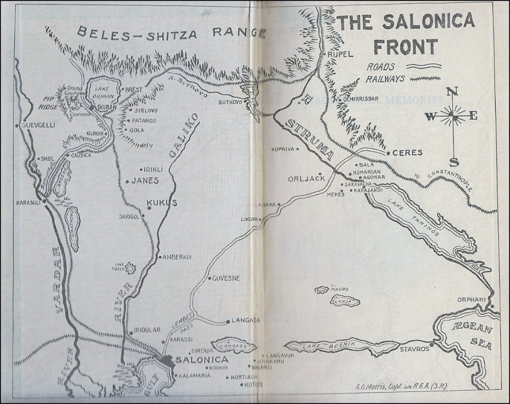 The Salonika Front 1917
