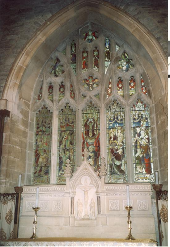 St Stephens Memorial Window. Photo courtesy of Tony and Lyn Goulding