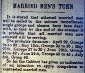 Married Mens Turn March 4th, 1916