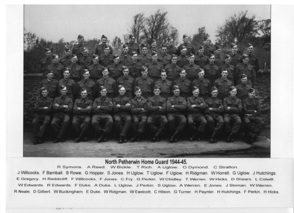 North Petherwin Homeguard 1944-45
