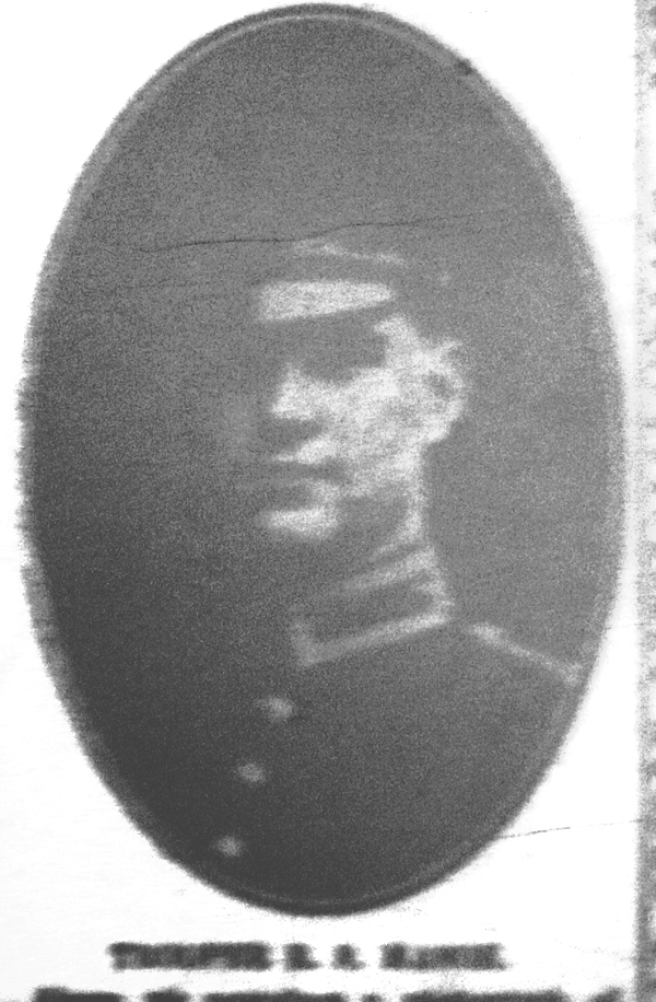 Trooper R S Mason of Athill in 1914