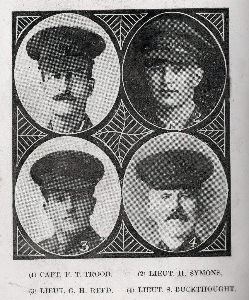 Wesleyan Roll of Honour 1916