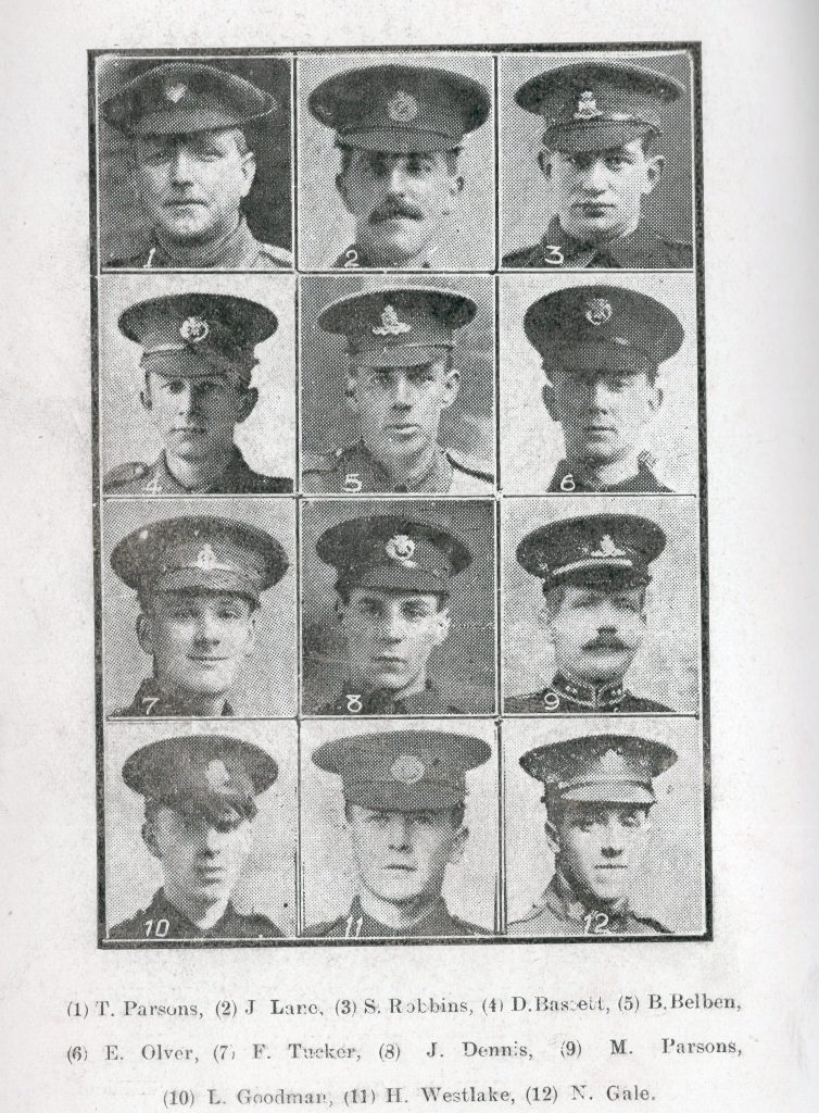 Wesleyan Roll of Honour 1916