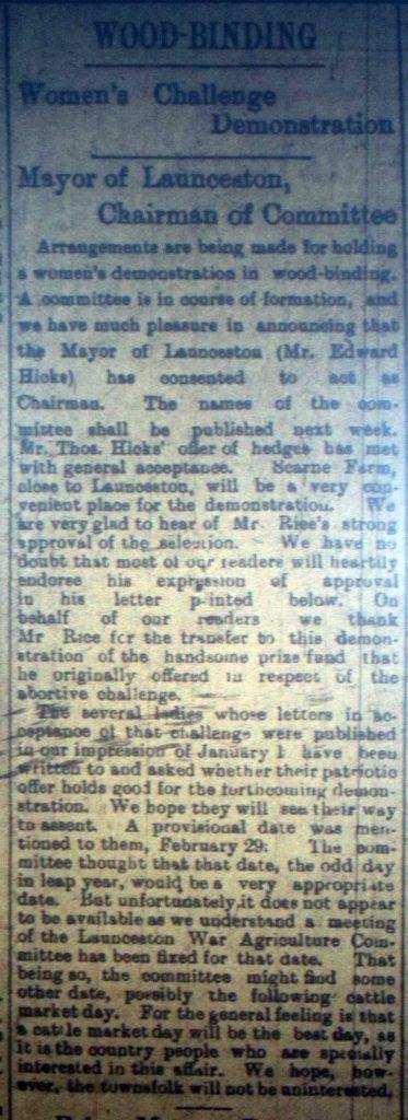 Woodbinding February 1916
