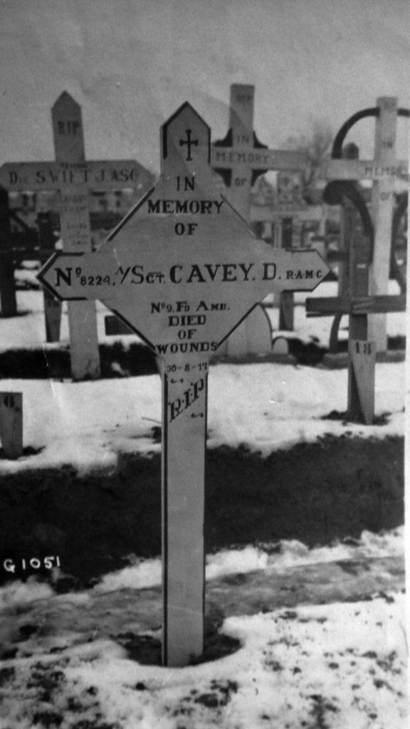 Douglas Cavey Original Headstone