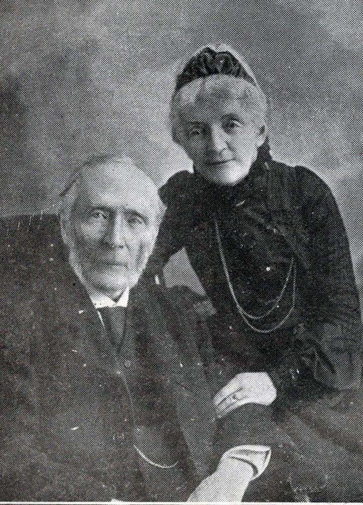 Edward Pethybridge and his wife, Eliza.