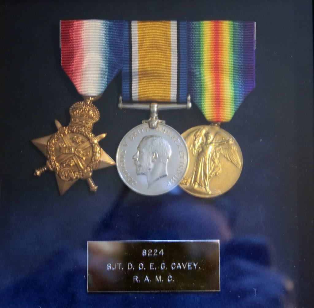 Doug Cavey's Medals
