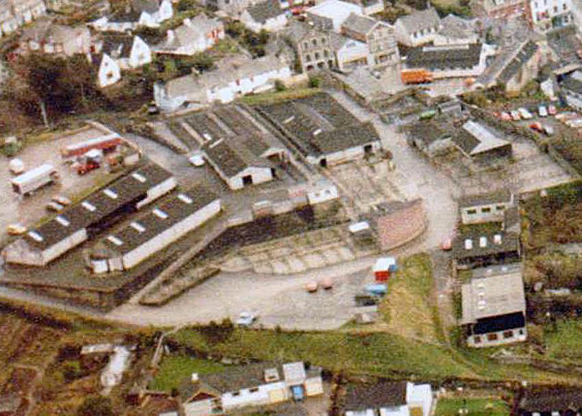 Launceston Cattle Market Aerial